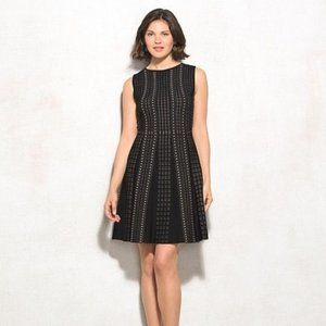Luxe By Carmen Marc Valvo Fit & Flare Dress